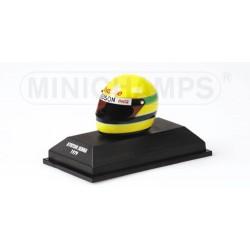 Casque Ayrton Senna Karting 1979/80 1/8 Minichamps 540381913