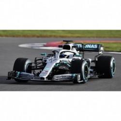 Mercedes F1 W10 EQ Power+ 77 F1 2ème Angleterre 2019 Valtteri Bottas Minichamps 417191077