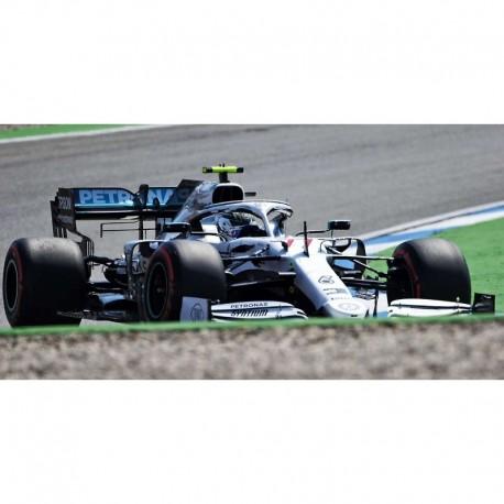 Mercedes F1 W10 EQ Power+ 77 F1 Allemagne 200th GP 2019 Valtteri Bottas Minichamps 110191177