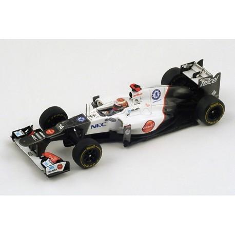 Sauber C31 F1 Monaco 2012 Kamui Kobayashi Spark S3032