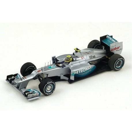 Mercedes W03 F1 Chine 2012 Nico Rosberg Spark S3043