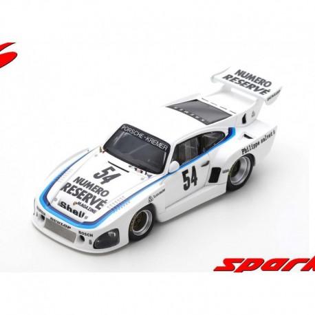 Porsche 935 K3 54 DRM Winner Zolder 1979 Klaus Ludwig Spark SG506