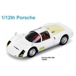 Porsche 906 1966 Blanche Spark 12S005 1/12
