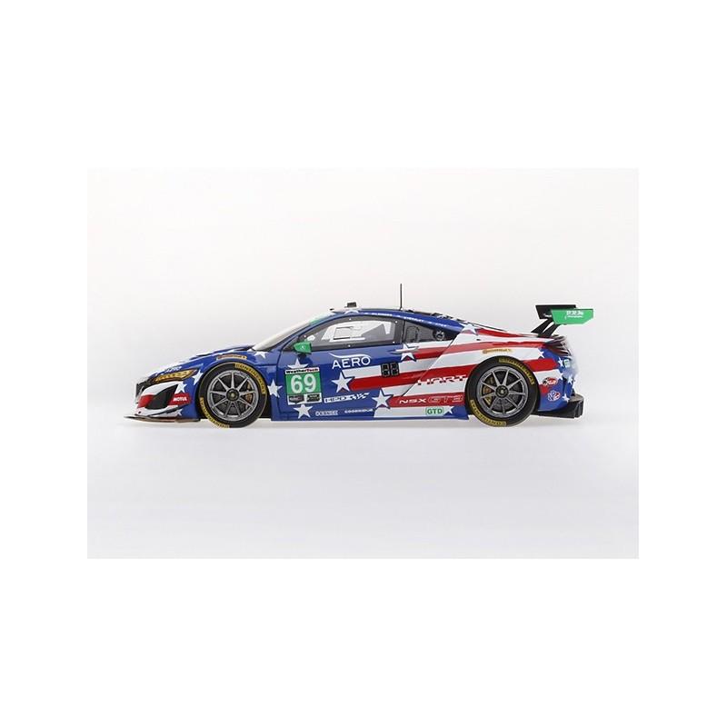 Acura NSX GT3 69 IMSA Watkins Glen 2018 Truescale