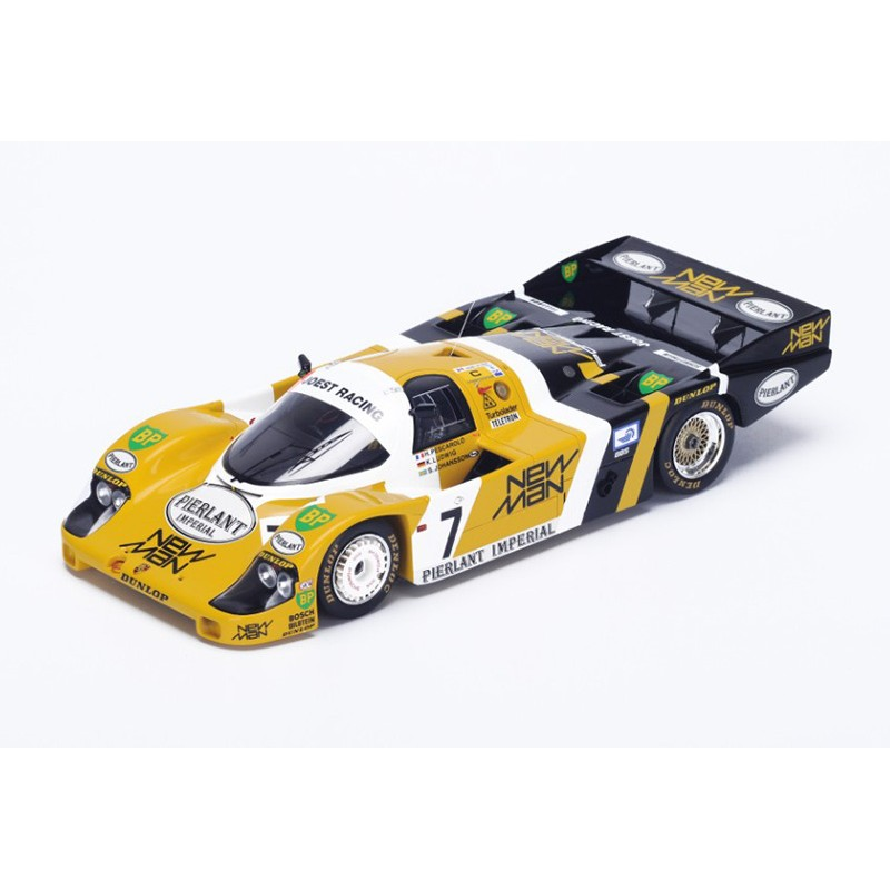 porsche 956 7 winner 24 heures du mans 1984 spark 18lm84 miniatures minichamps. Black Bedroom Furniture Sets. Home Design Ideas