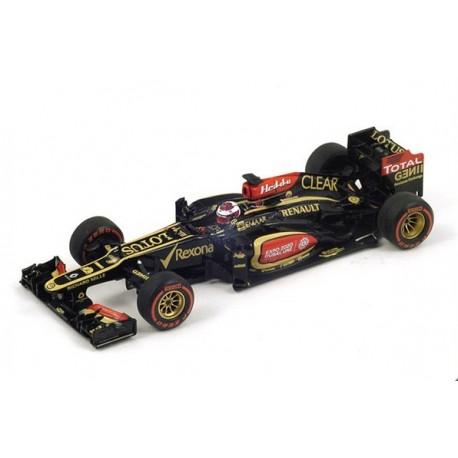 Lotus Renault E21 F1 USA 2013 Heikki Kovalainen Spark S3071
