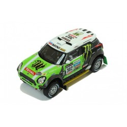 Mini All 4 Racing 302 Rallye Dakar 2013 Peterhansel Cottret IXO RAM574P