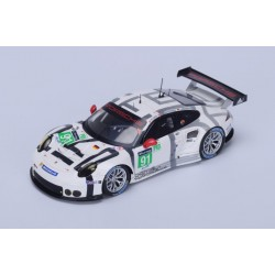 Porsche 911 RSR 91 24 Heures du Mans 2015 Spark S4663