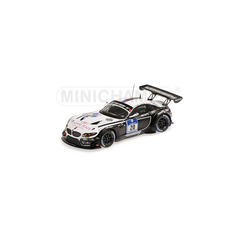 2014 Bmw Z4: BMW Z4 GT3 30 24 Heures Du Nurburgring 2014 Minichamps
