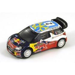 Citroen DS3 2 WRC Suède 2011 Ogier Ingrassia Spark S3301