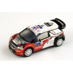 Citroen DS3 11 WRC Mexique 2011 Solberg Patterson Spark S3304