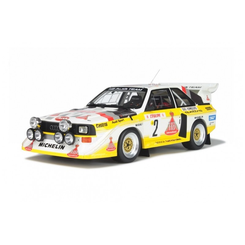 audi sport quattro s1 2 monte carlo 1986 ottomobile au004 miniatures minichamps. Black Bedroom Furniture Sets. Home Design Ideas