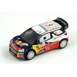 Citroen DS3 2 WRC Jordanie 2011 Ogier Ingrassia Spark S3309