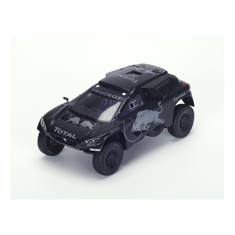 peugeot 2008 dkr test car rallye dakar 2016 loeb spark s4949 miniatures minichamps. Black Bedroom Furniture Sets. Home Design Ideas