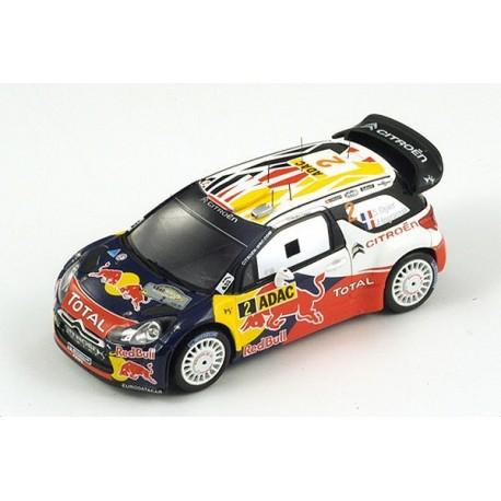 Citroen DS3 2 WRC Allemagne 2011 Ogier Ingrassia Spark S3322