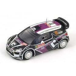 Citroen DS3 11 WRC Monte Carlo 2012 Van Merksteijn Chevaillier Spark S3329