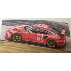 Porsche 911 991.2 GT3RS 2019 Indischrot Getspeed Race Taxi Minichamps 155068227