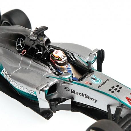 Mercedes F1 W05 F1 Chine 2014 Lewis Hamilton Minichamps 410140344