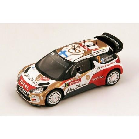 Citroen DS3 2 WRC Monte Carlo 2013 Hirvonen Lehtinen Spark S3354
