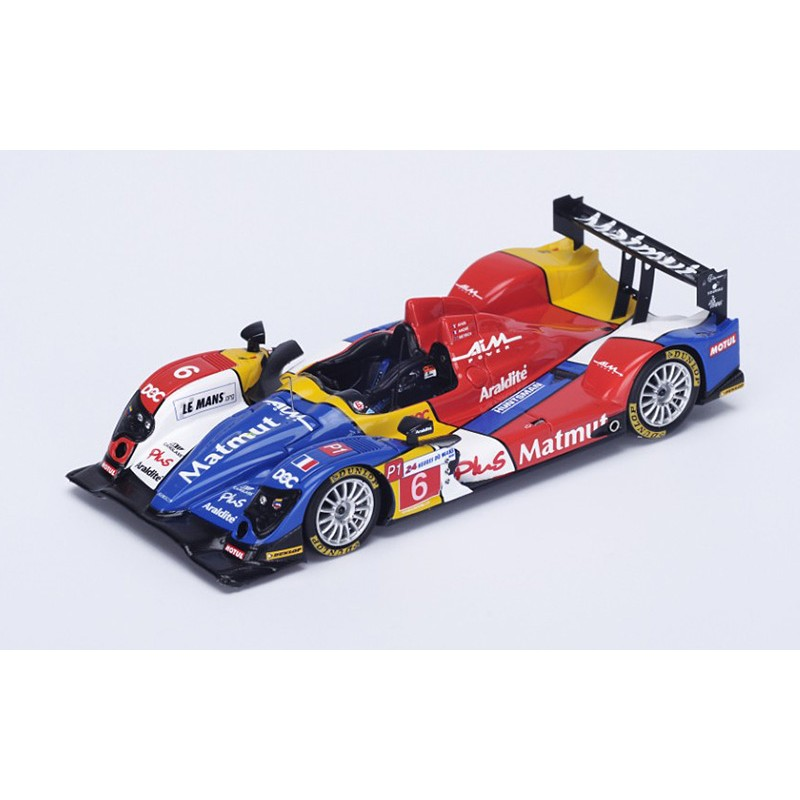 oreca 01 aim 6 24 heures du mans 2010 spark s4552 miniatures minichamps. Black Bedroom Furniture Sets. Home Design Ideas