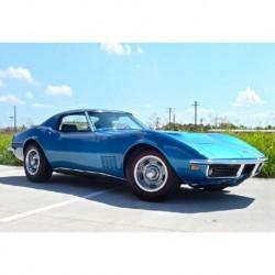 Chevrolet Corvette C3 Le Mans Blue GT Spirit GT255