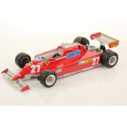 Ferrari 126CK 27 F1 Espagne 1981 Gilles Villeneuve Looksmart LS18RC02