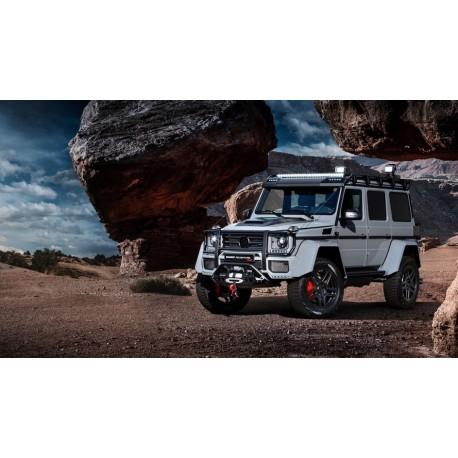 Brabus 550 Adventure Mercedes G500 4X4 Matel Grey Almost Real ALM860304