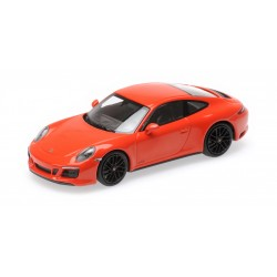 Porsche 911 Type 991/2 Carrera 4 GTS 2017 Orange Minichamps 410067321