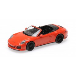 Porsche 911 Type 991/2 Carrera 4 GTS Cabriolet 2017 Orange Minichamps 410067331