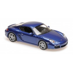 Porsche Cayman S 2005 Blue Metallic Maxichamps 940065621