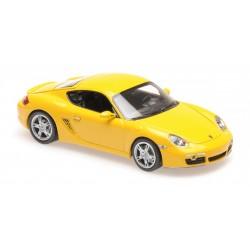 Porsche Cayman S 2005 Yellow Maxichamps 940065620