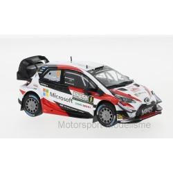 Toyota Yaris WRC 9 Rallye d'Italie 2018 Lappi Ferm IXO RAM678