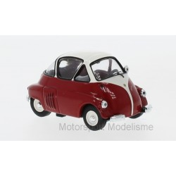 ISO Isetta 1955 Red White IXO IXOCLC312N