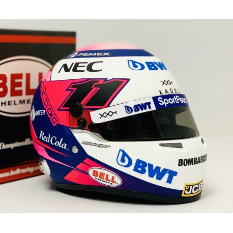 Casque Helmet 1/2 Sergio Perez F1 2019 Bell
