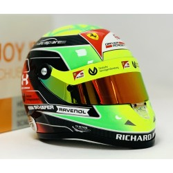 Casque 1/2 Mick Schumacher F2 2019 Schuberth