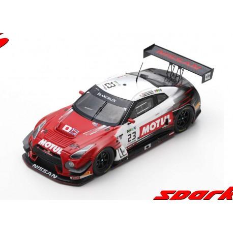 Nissan GTR Nismo GT3 23 24 Heures de Spa Francorchamps 2017 Spark SB182