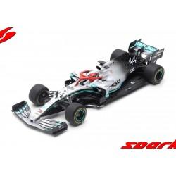 Mercedes F1 W10 EQ Power+ F1 Winner Monaco 2019 Hommage à Niki Lauda Lewis Hamilton Spark 18S460