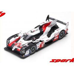 Toyota TS050 Hybrid 8 Winner 24 Heures du Mans 2019 Spark 18LM19