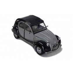 Citroen 2CV Charleston Grey Black IXO IXOPR8004B