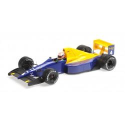 Tyrrell Ford 018 F1 Belgique 1989 Johnny Herbert Minichamps 110891104