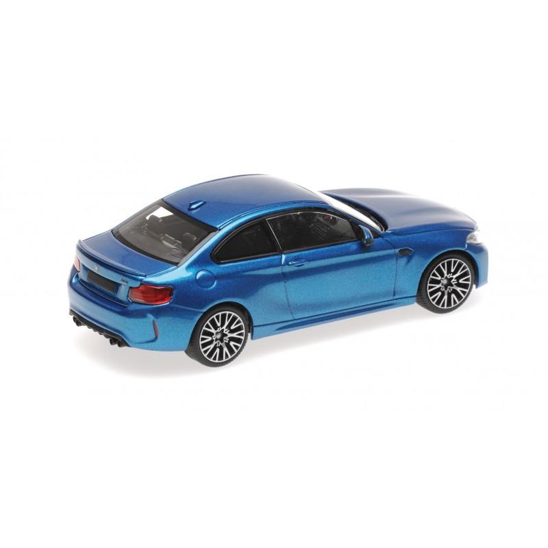 BMW M2 Competition 2019 Blue Metallic Minichamps 410026202