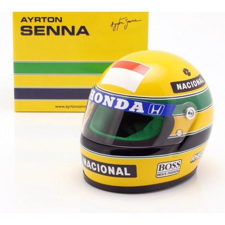 Casque 1/2 Ayrton Senna F1 1990 Sports Mini Line ASHS1990