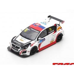 Peugeot 308 TCR 70 WTCR Macau GP Race 1 2018 Mato Homola Spark SA180