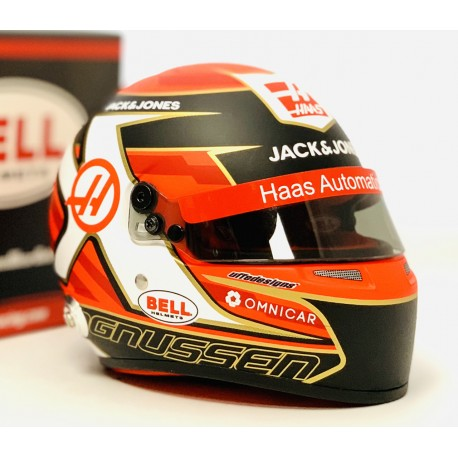 Casque Helmet 1/2 Kevin Magnussen F1 2019 Bell