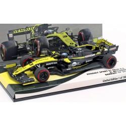 Renault RS19 F1 Bahrain 2019 Daniel Ricciardo Minichamps 447190003
