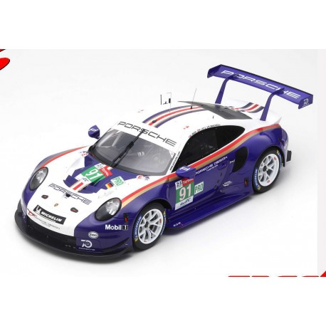 Porsche 911 RSR 91 24 Heures du Mans 2018 Spark 12S011