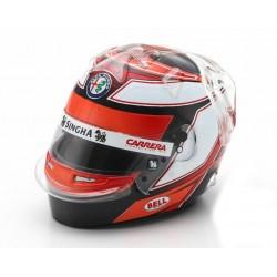 Casque Helmet 1/8 Kimi Raikkonen Sauber F1 2019 Spark SHSP045