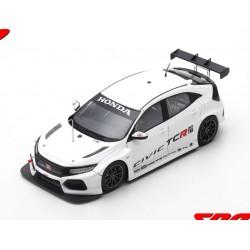 Honda Civic Type R TCR Test Valence 2018 Tiago Monteiro Spark S5466