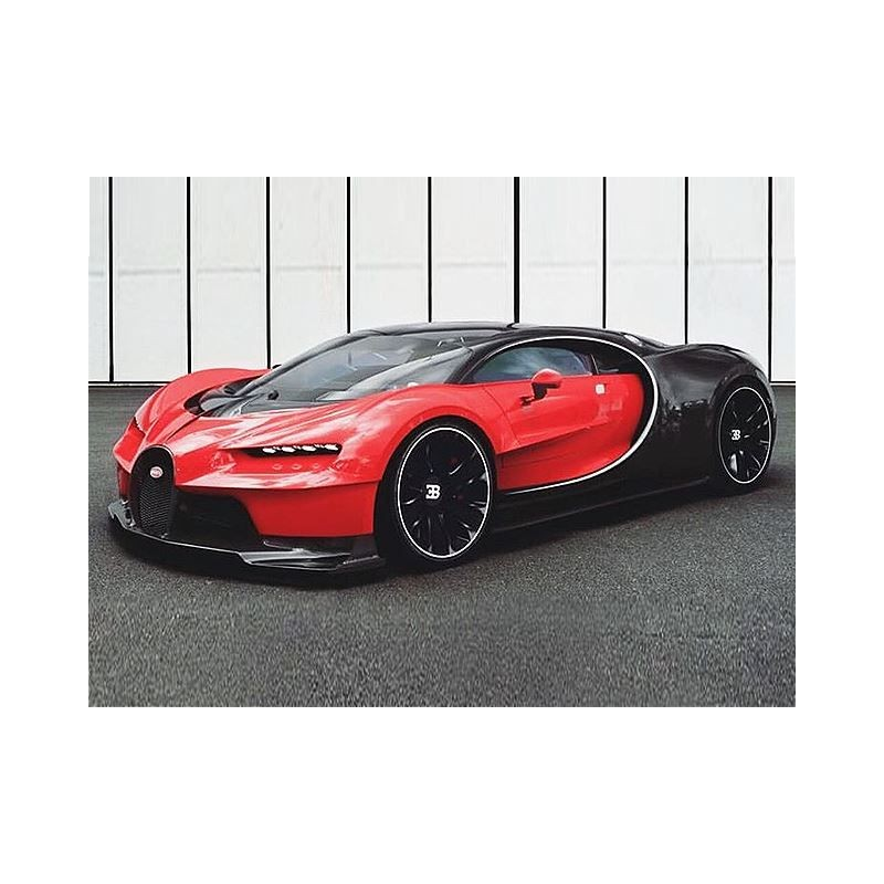"bugatti chiron ""noctunre"" rouge italien 2016 looksmart ls1206b"