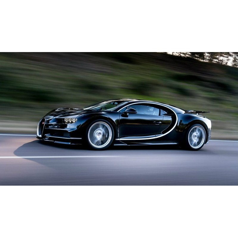 bugatti chiron noire uni 2016 looksmart ls1206c miniatures minichamps. Black Bedroom Furniture Sets. Home Design Ideas